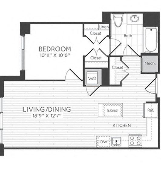 Apartment 0333 floorplan
