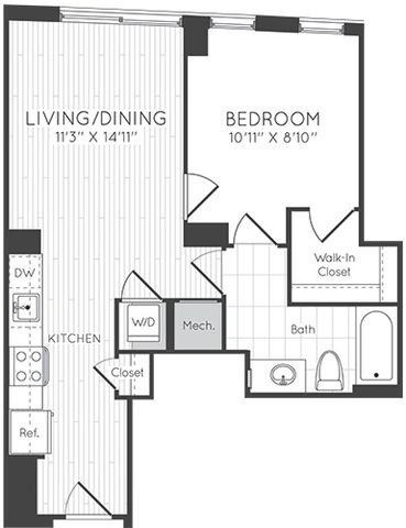 Apartment 1120 floorplan
