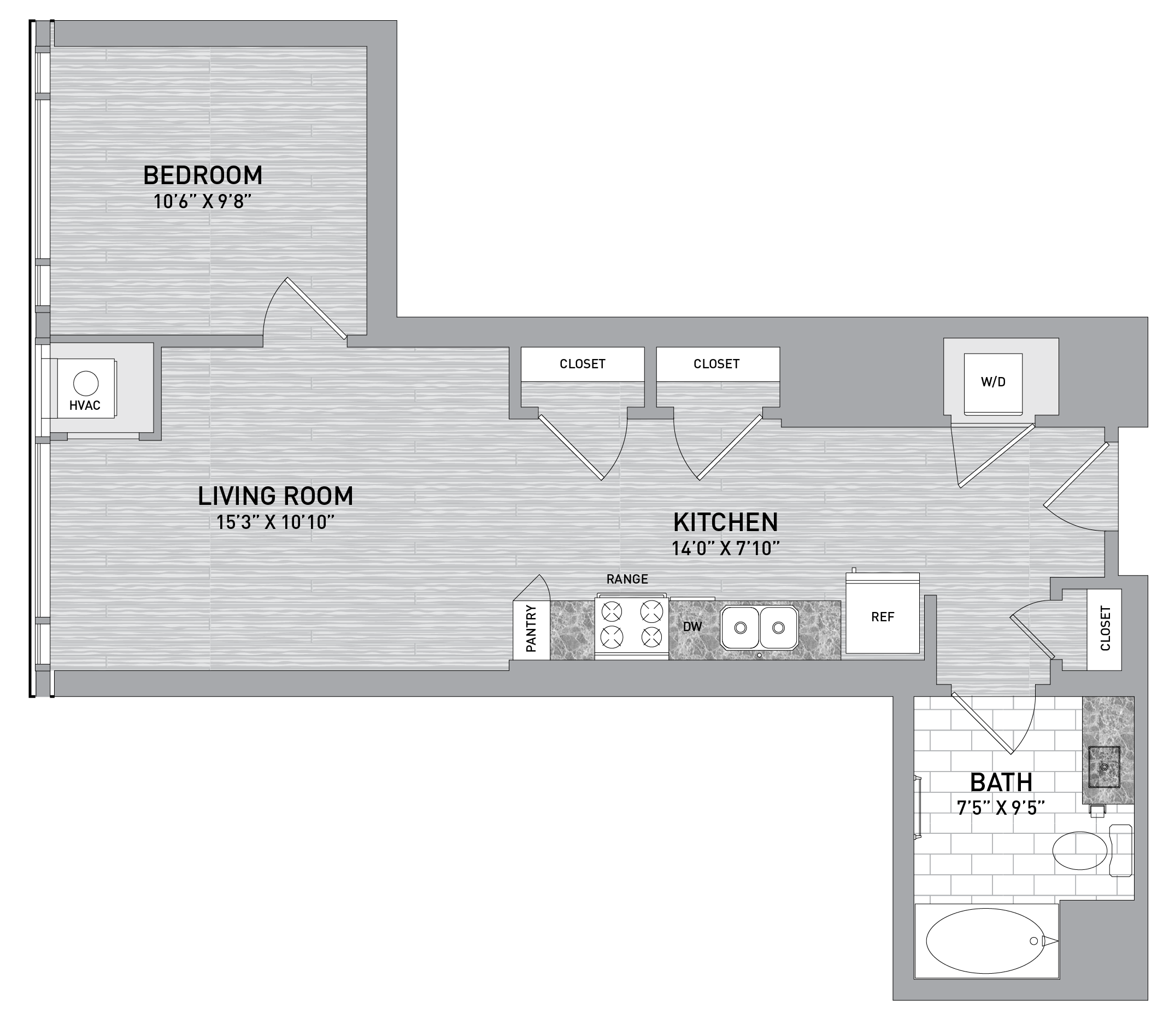 floorplan image of unit id 0430