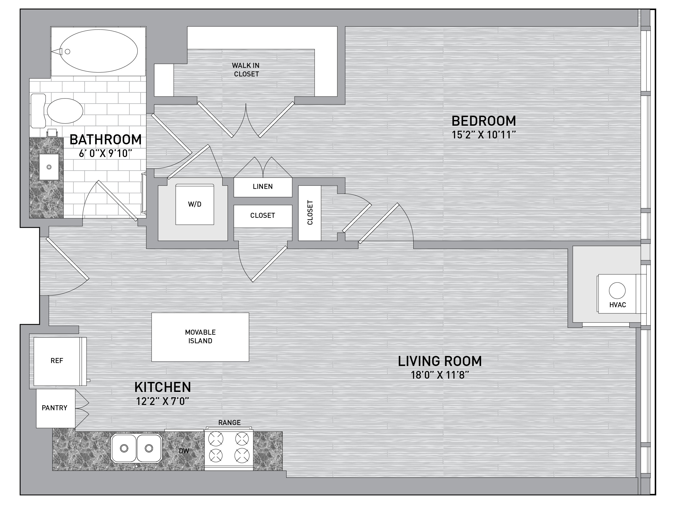 floorplan image of unit id 0727