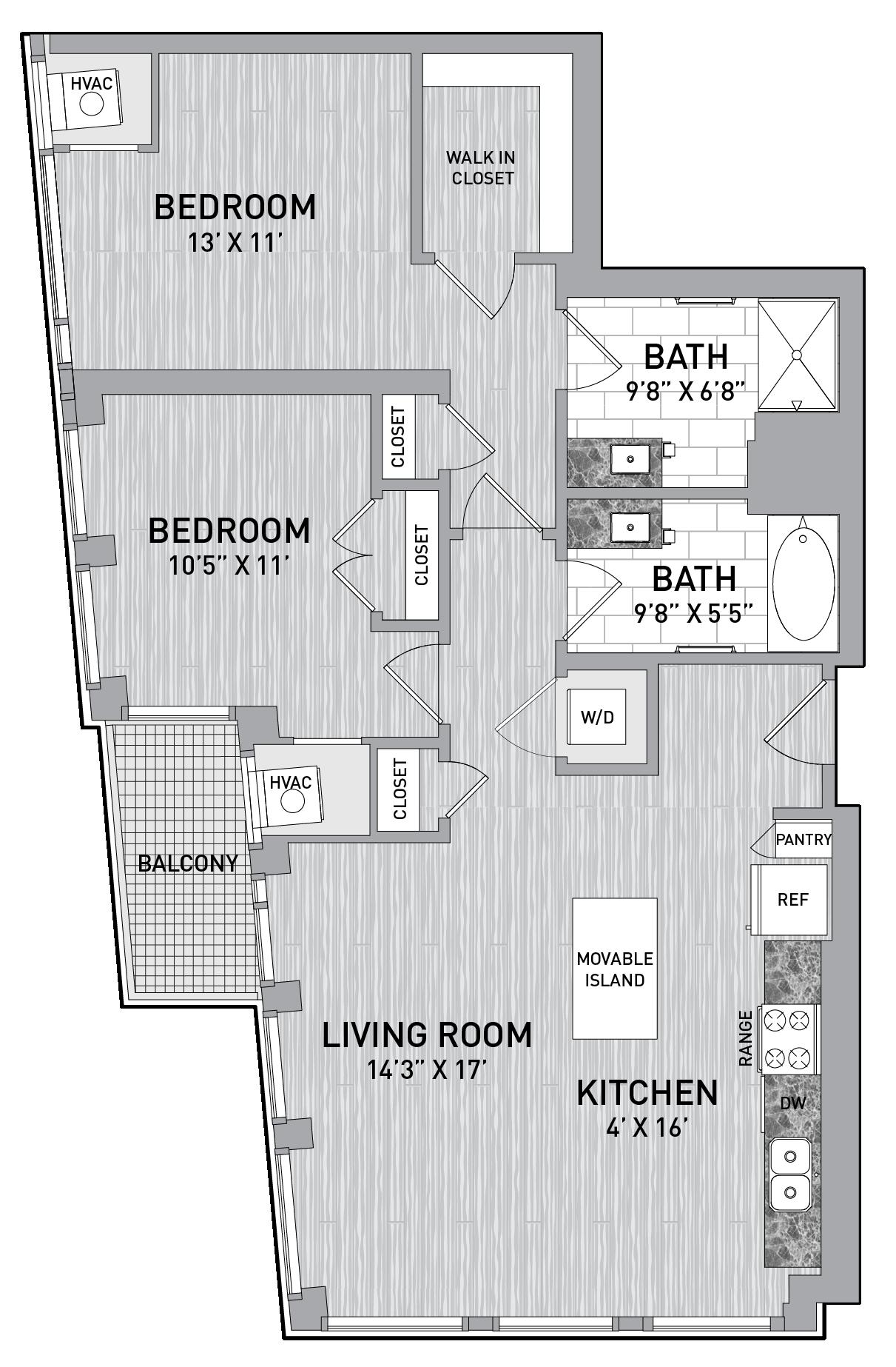 floorplan image of unit id 0502