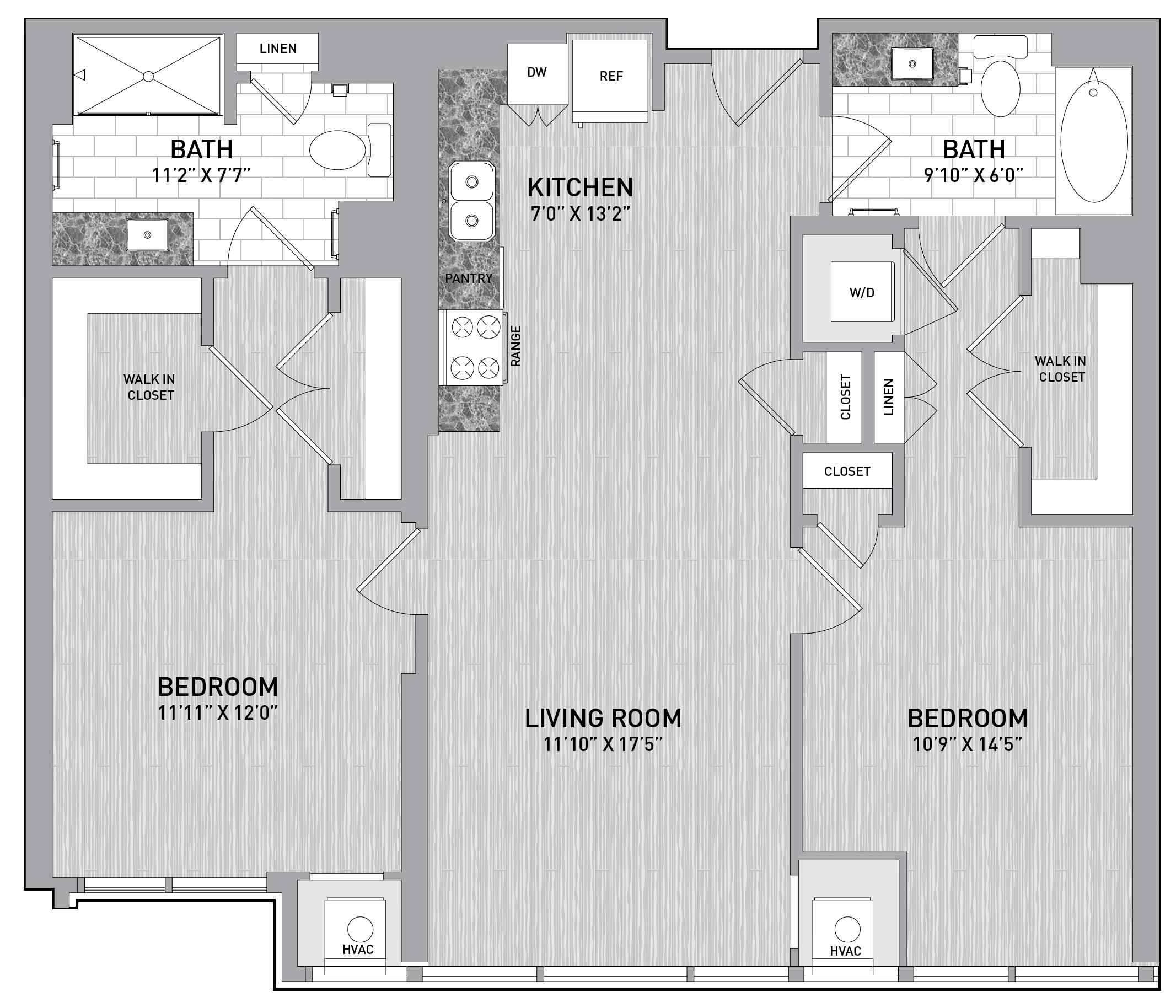 floorplan image of unit id 0818
