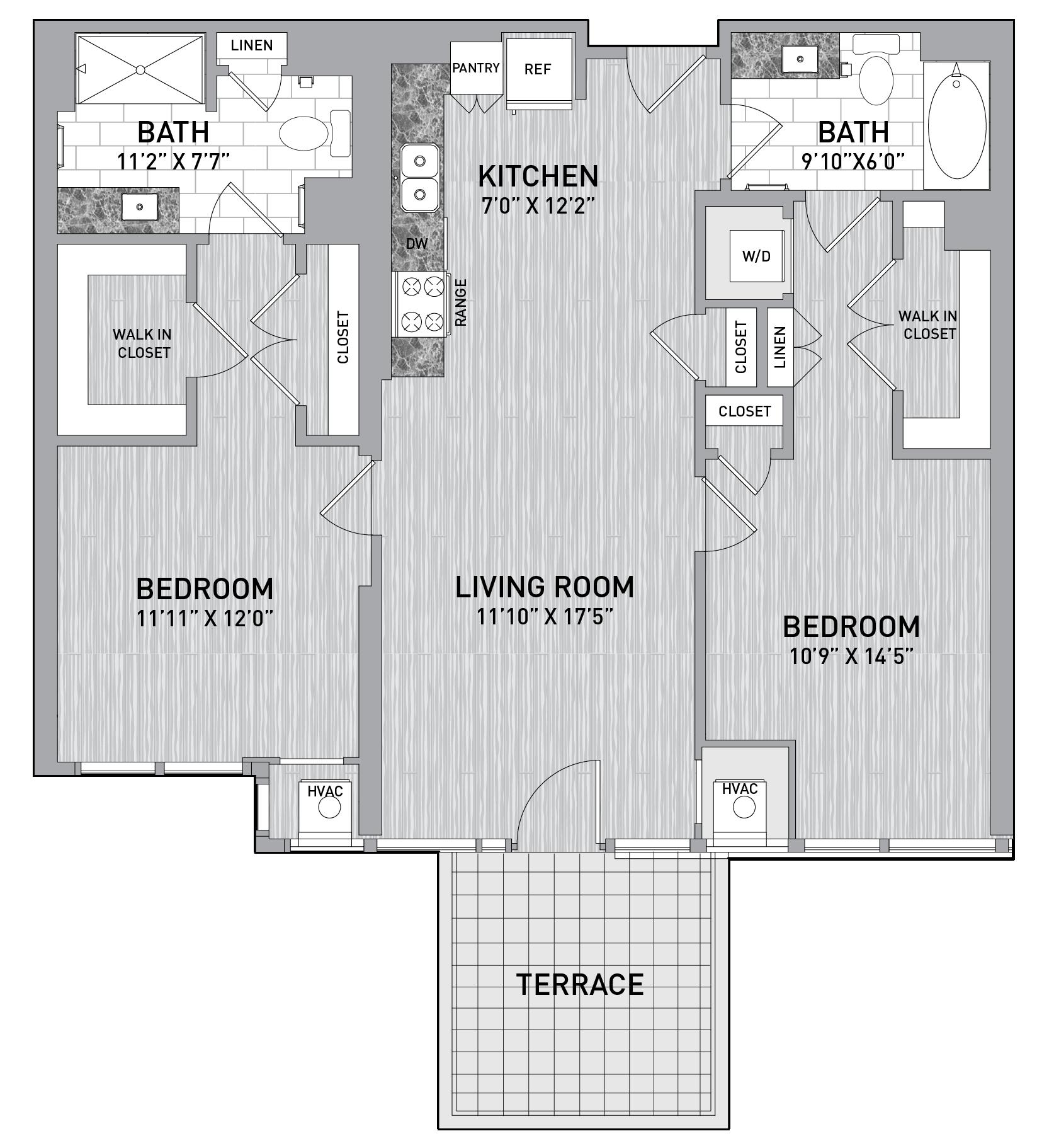 floorplan image of unit id 0218