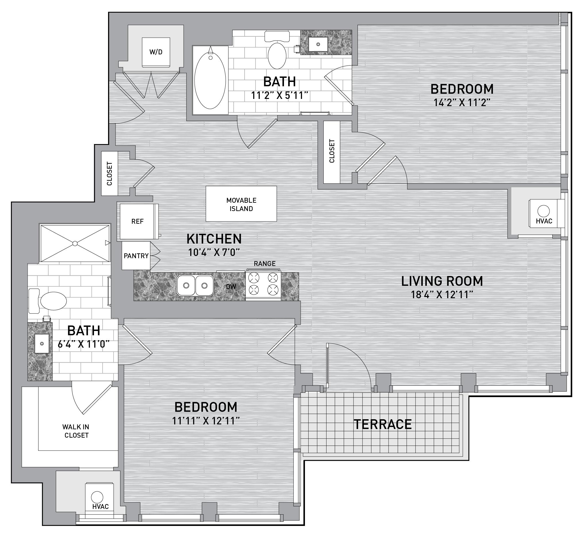 floorplan image of unit id 0819
