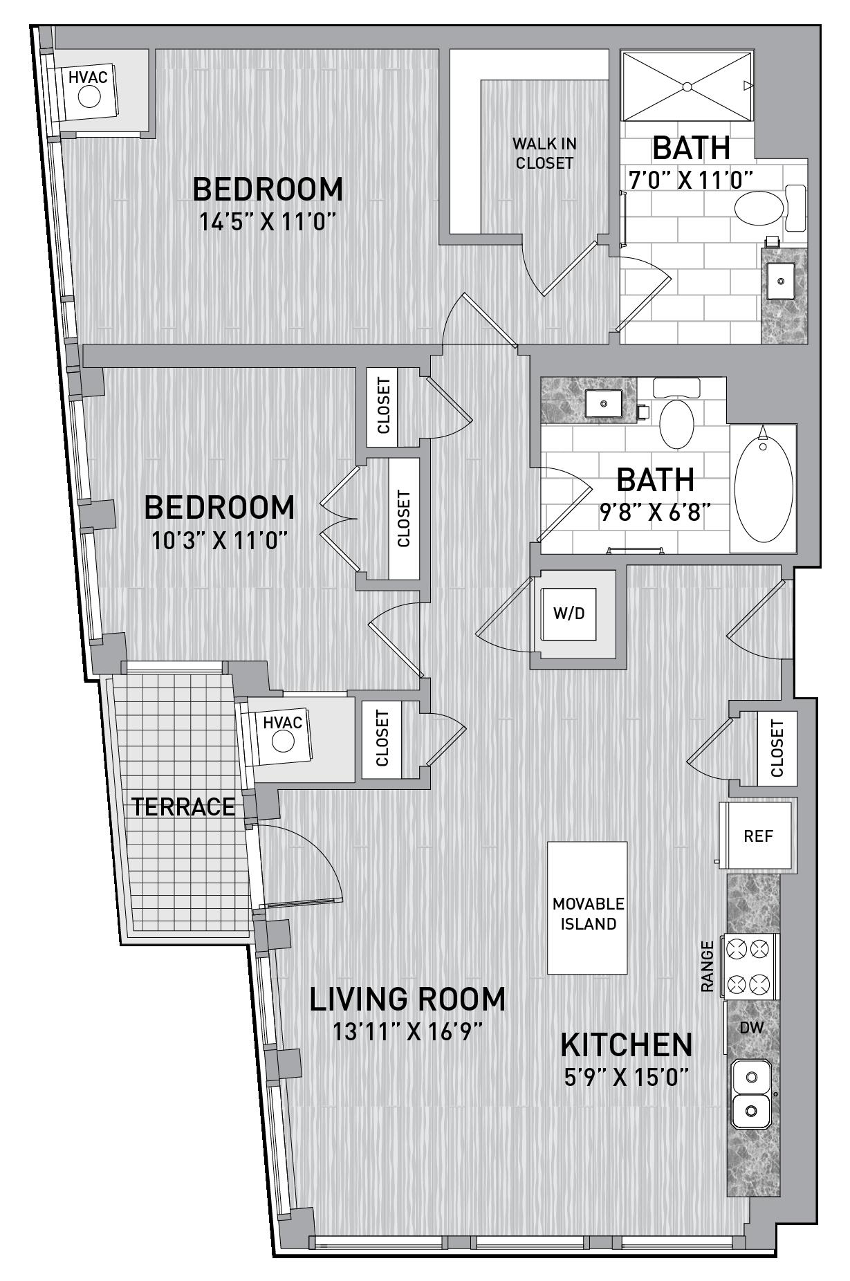 floorplan image of unit id 0620