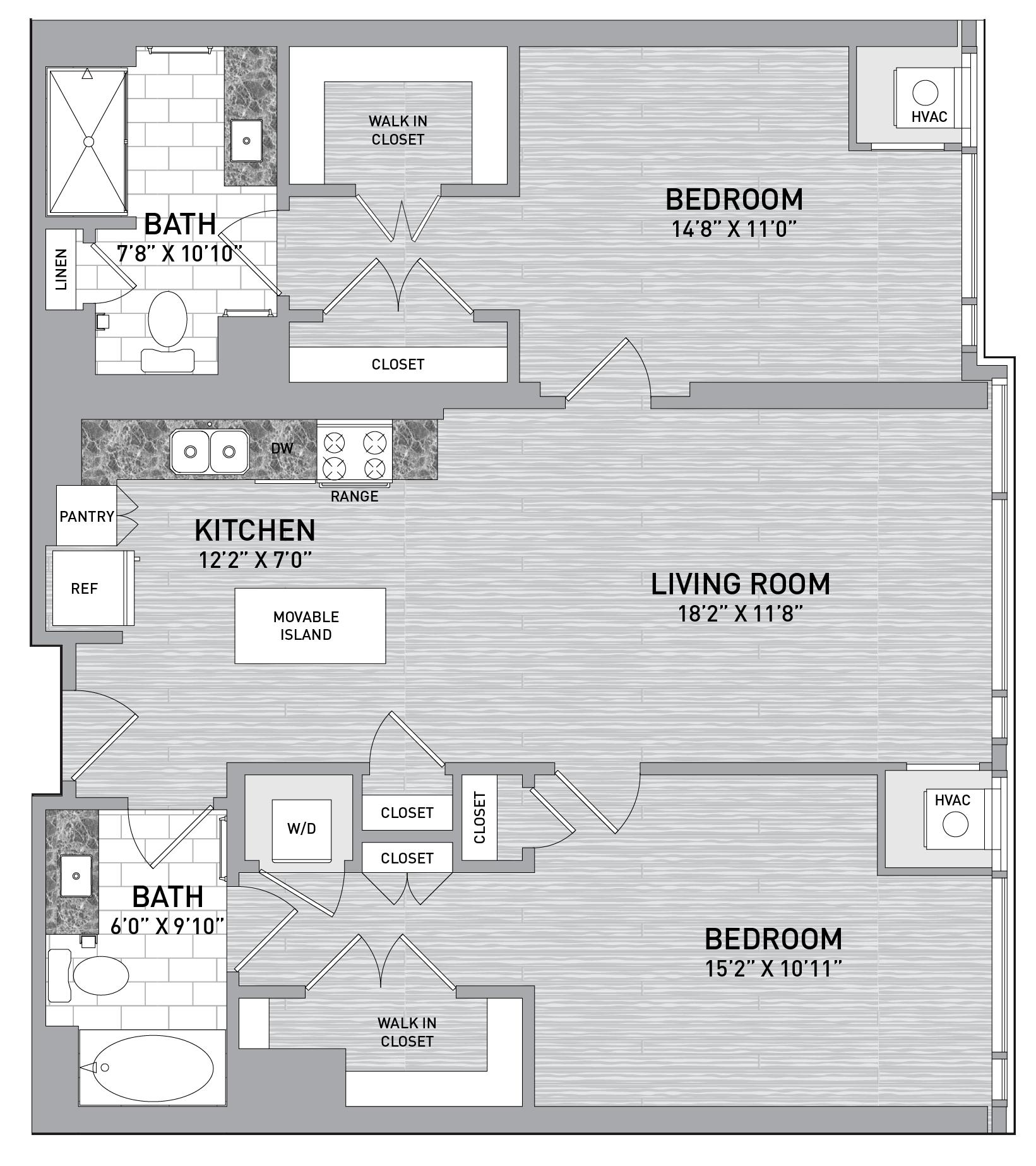 floorplan image of unit id 0531