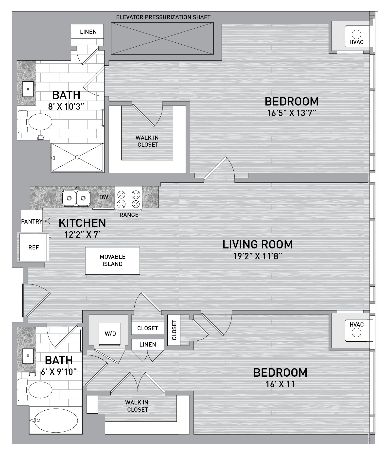 floorplan image of unit id 0505