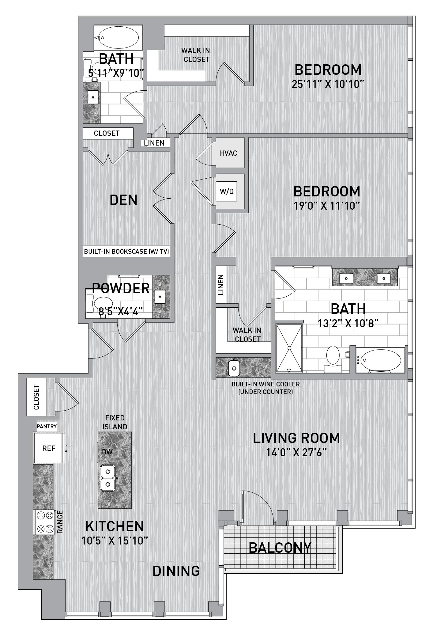 floorplan image of unit id 1001