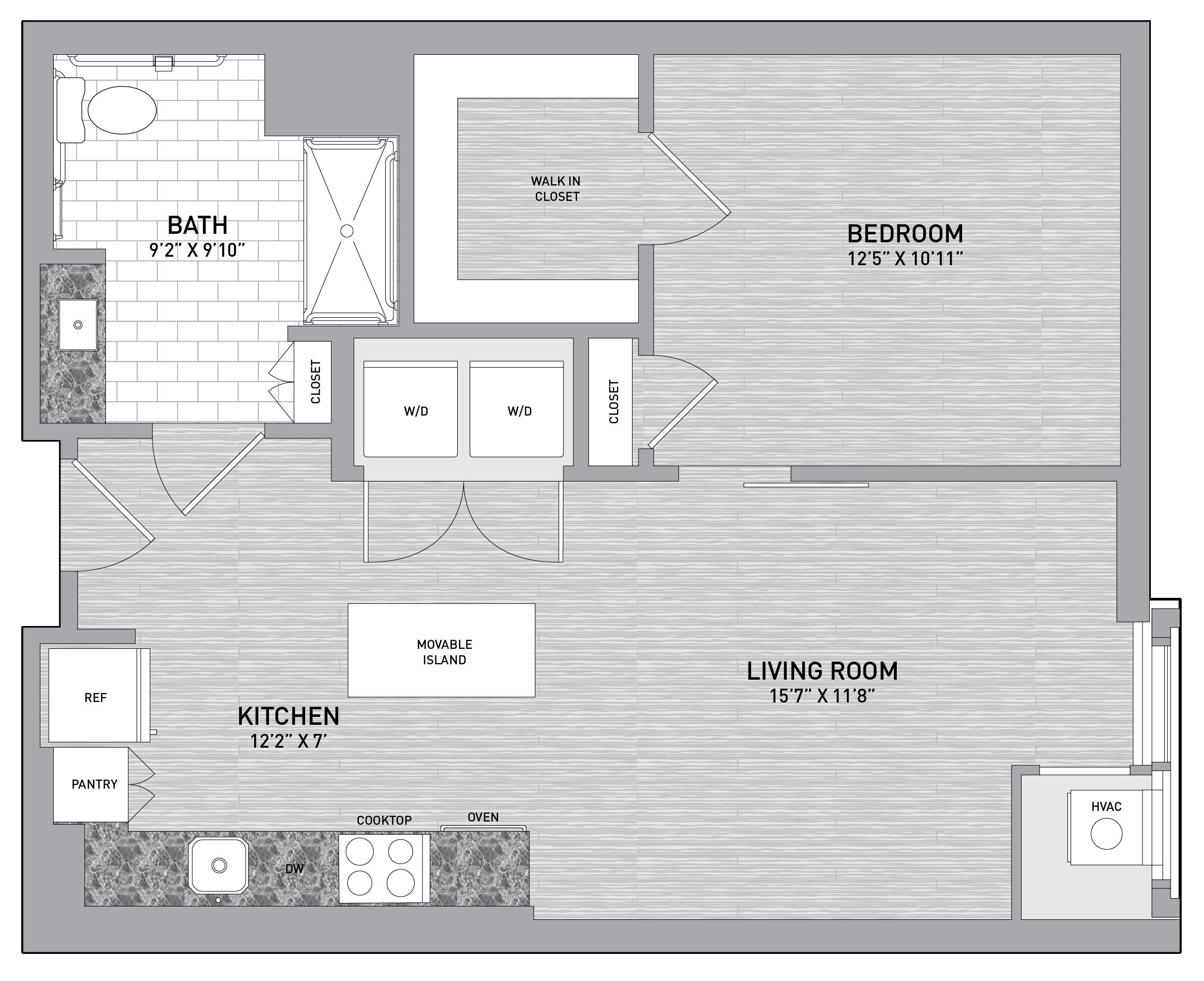 floorplan image of unit id 0421