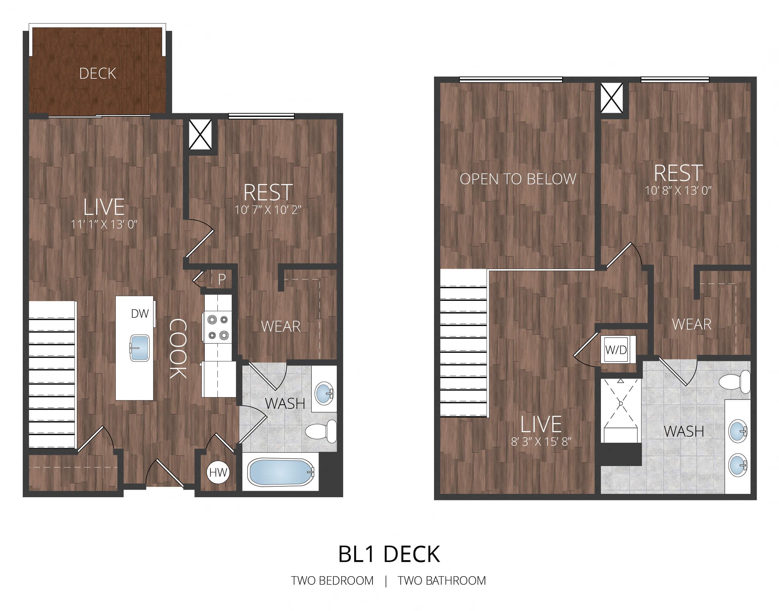 Penthouse BL1 Deck