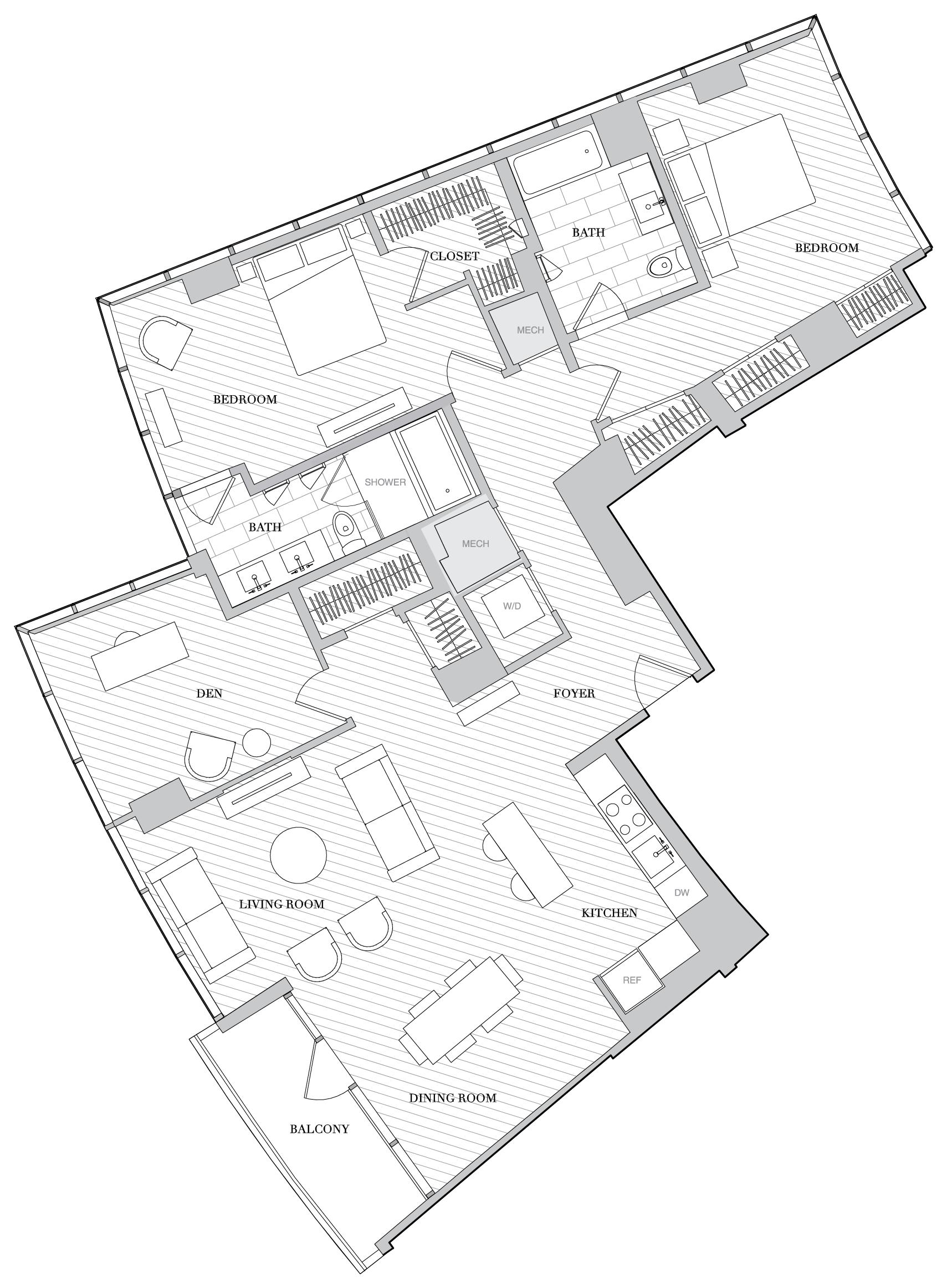 Floor Plan 1001