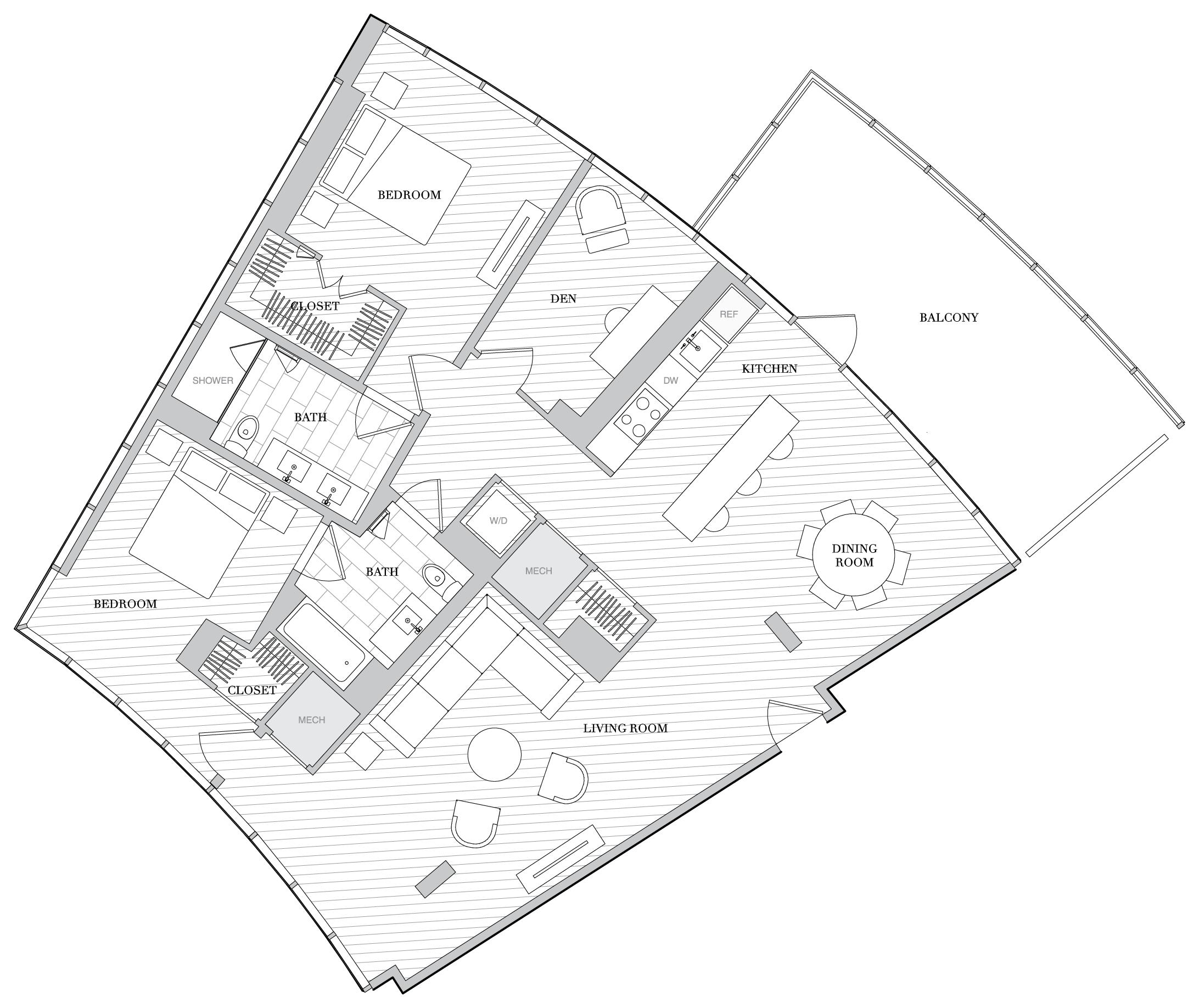Floor Plan 1121