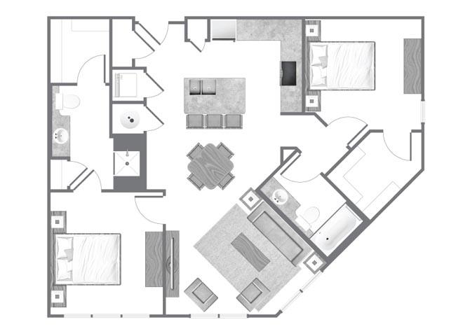 Ga sandysprings citizenperimeter p0533572 b1 1045sqft 2 floorplan