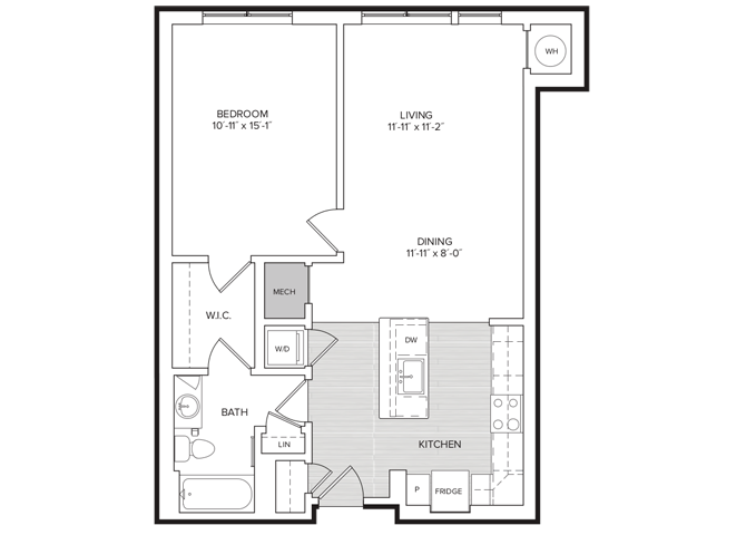 floor plan image of apartment 244