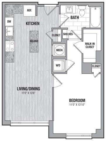 1 bed1 bath jr a1