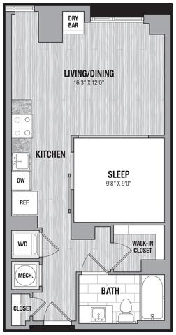 floor plan 303