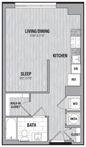 floor plan 713