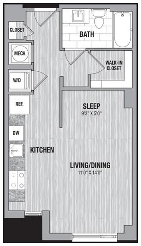 floor plan 743