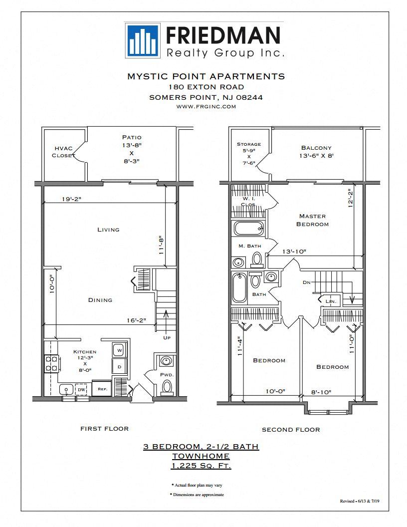 3 Bedroom Townhome - Corner