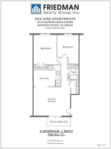 2 Bedroom-Dishwasher