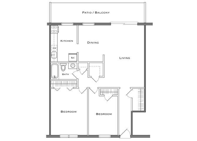 2 Bedroom - Deluxe