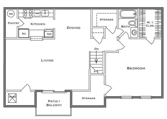 Birchwood II - 1 Bedroom
