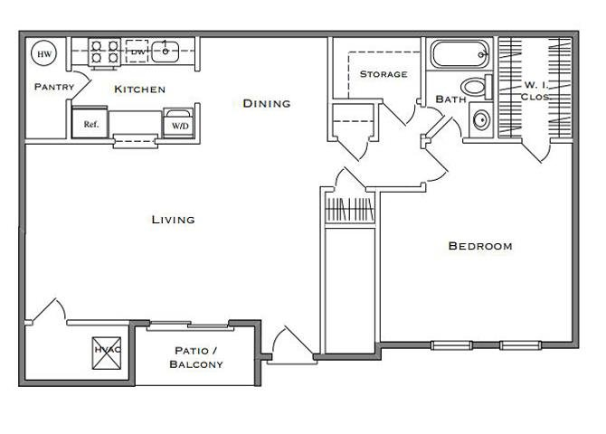 Birchwood I - 1 Bedroom