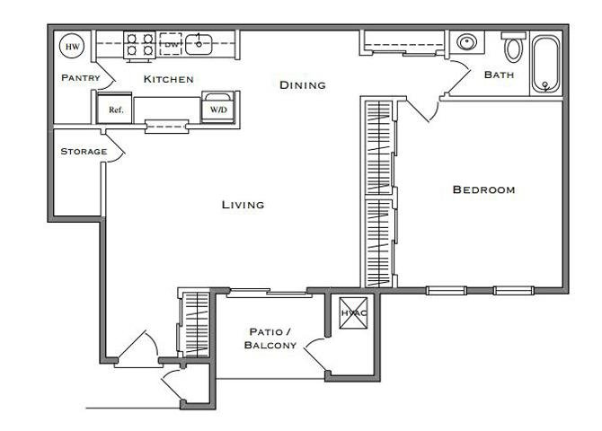 Sequoia - 1 Bedroom