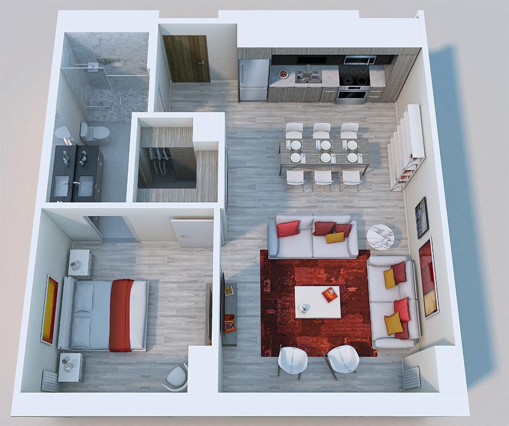 1×1 Penthouse XL