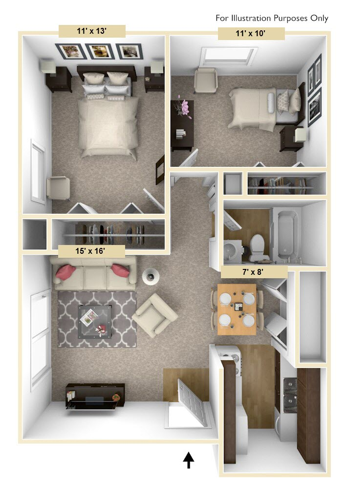 Legacy - One Bedroom One Bath