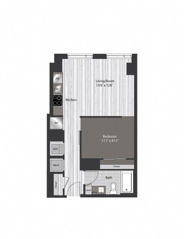 floor plan 1008