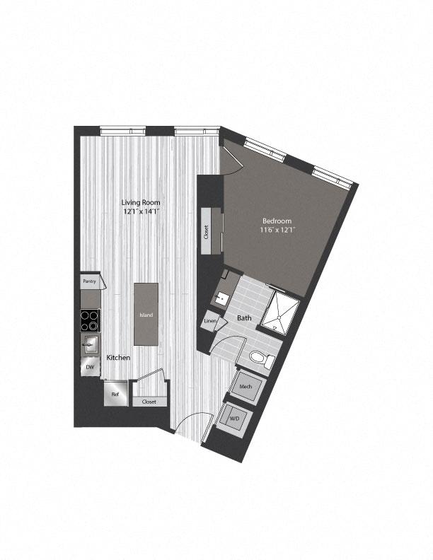 floor plan 1005