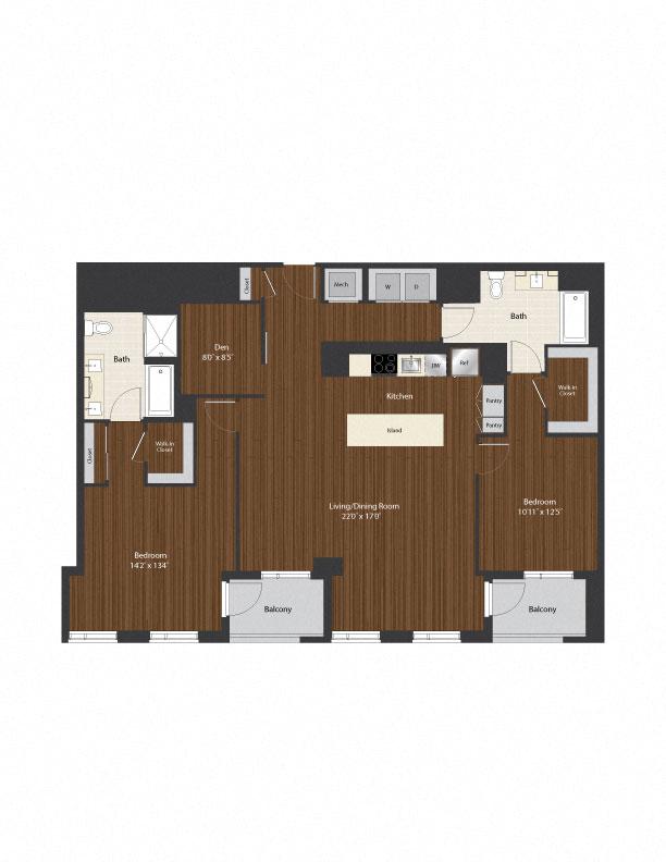 floor plan 2917