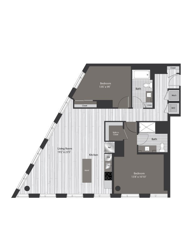 floor plan 2312
