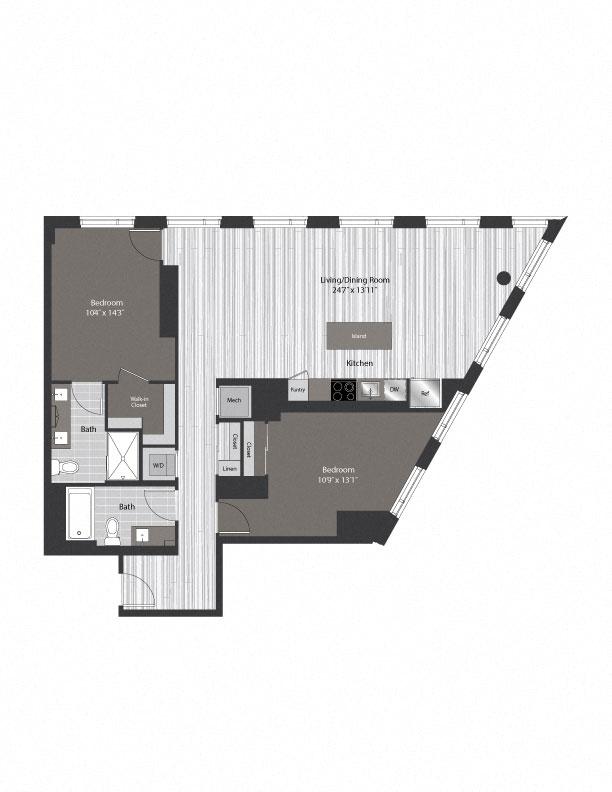 floor plan 1403