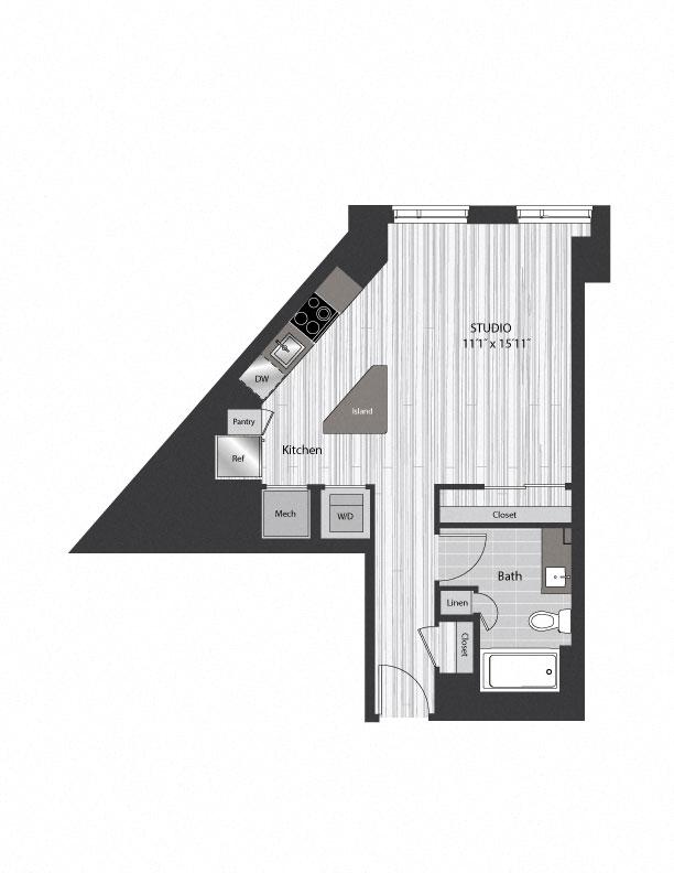 floor plan 1110