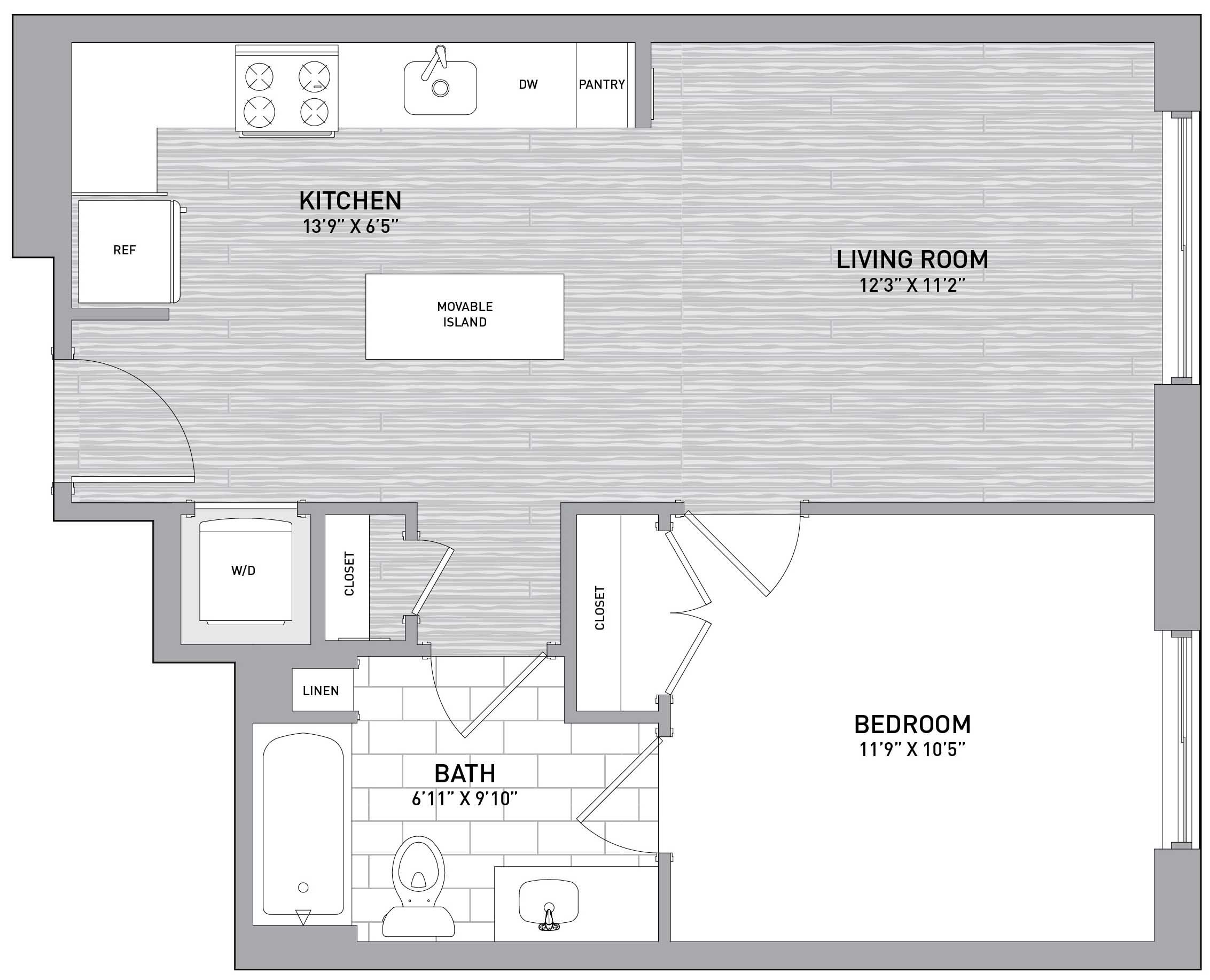 Floorplan Image of unit 151-0112