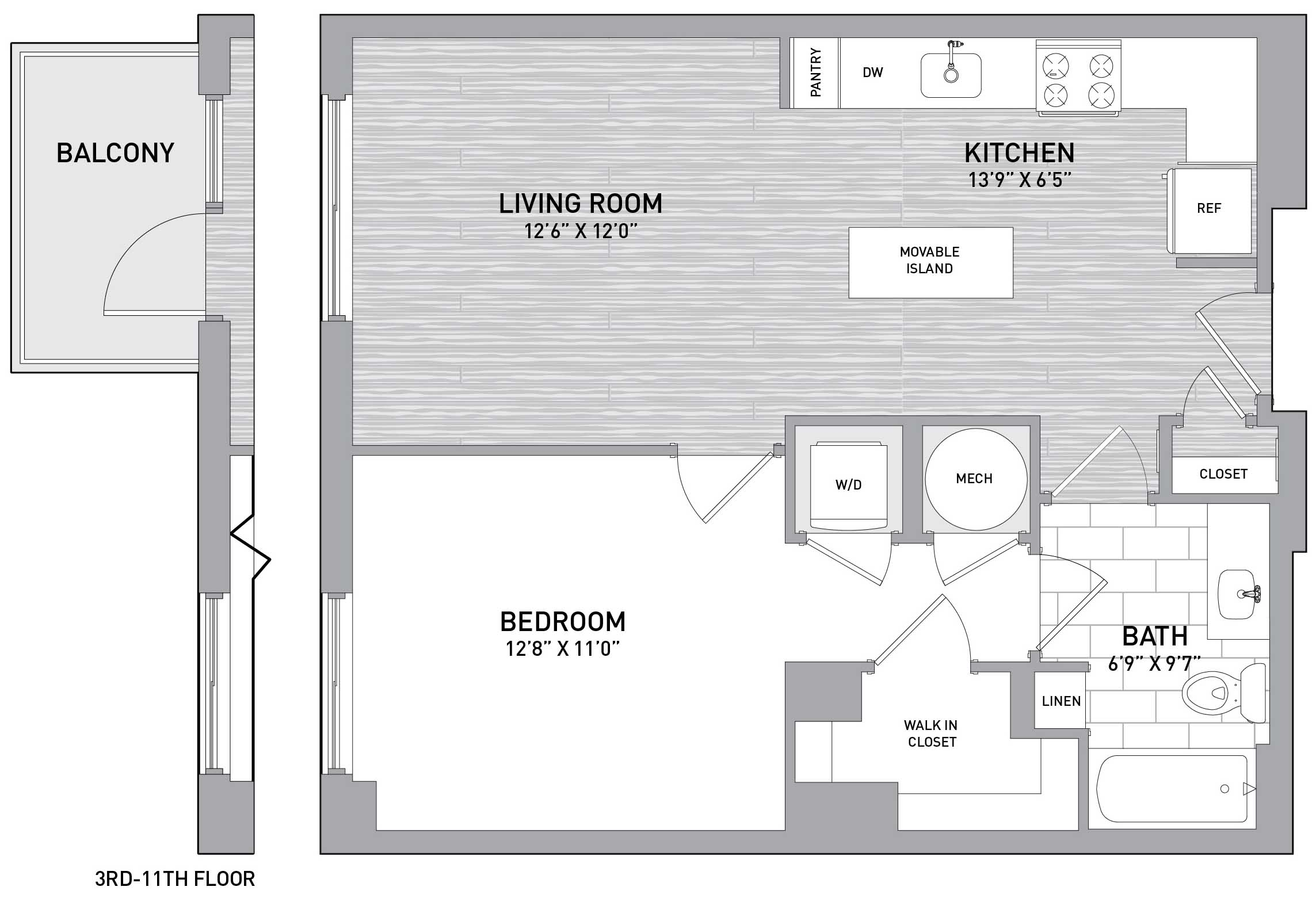 Floorplan Image of unit 151-0305