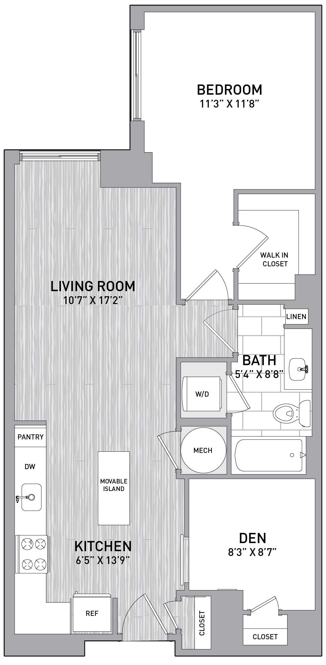 Floorplan Image of unit 151-0615