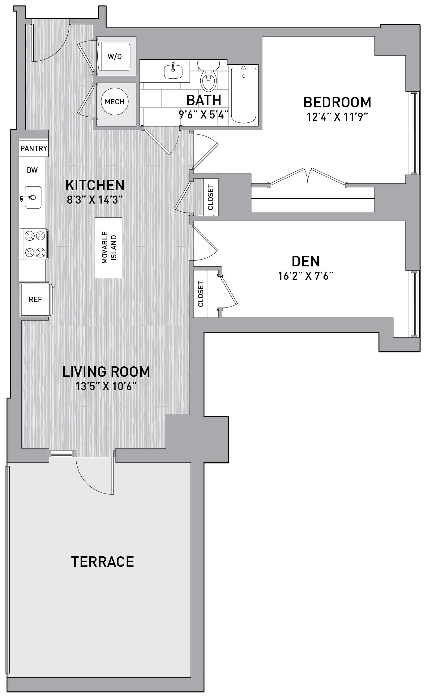 Floorplan Image of unit 151-0111