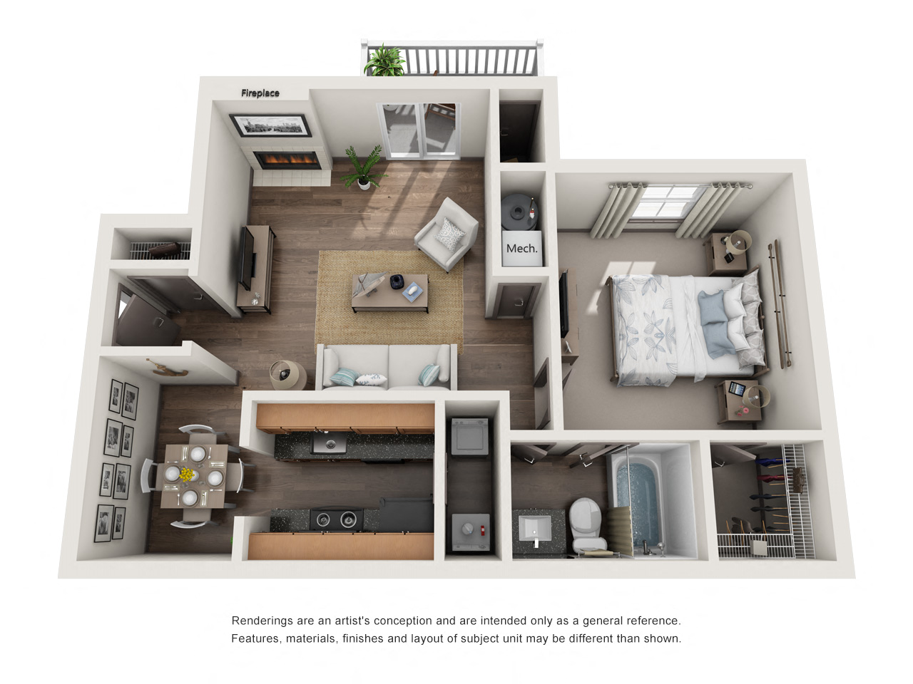 1250 West Apartments A2