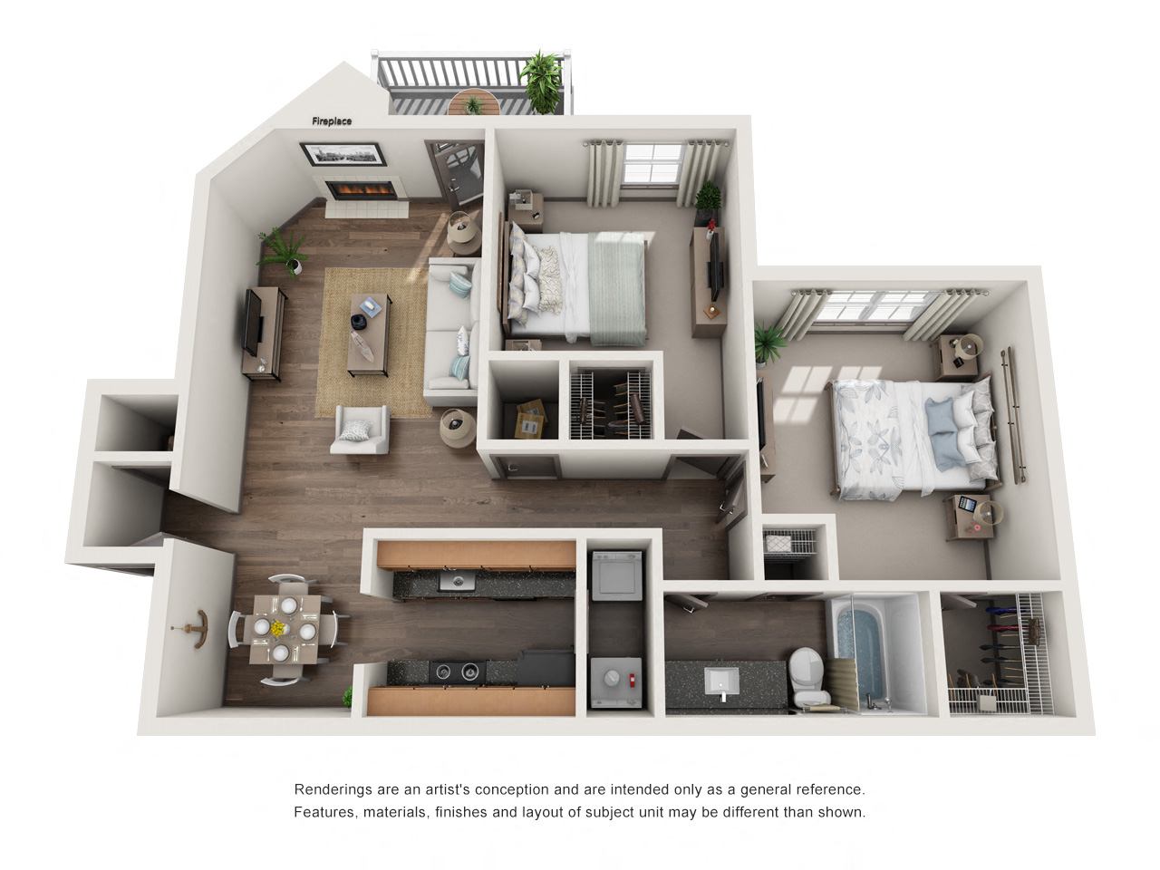 1250 West Apartments B1