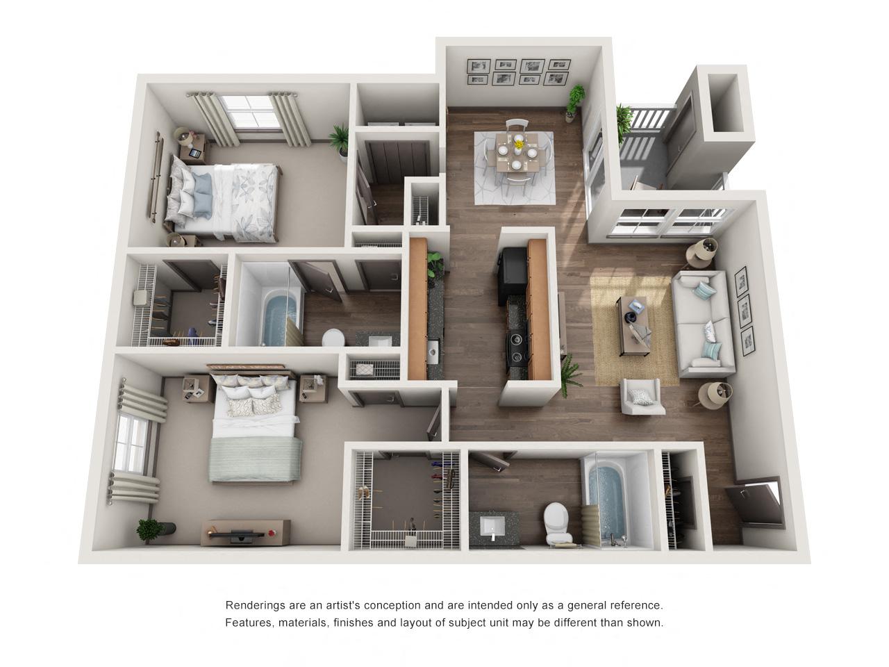 1250 West Apartments B3