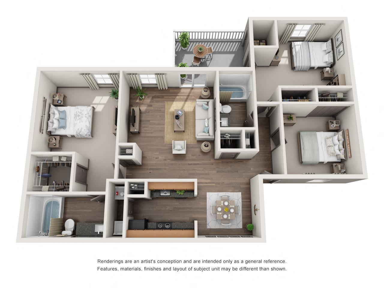 1250 West Apartments C1