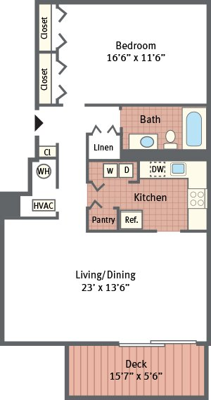 The Landings at Pine Lake - Robin Floor Plan Picture