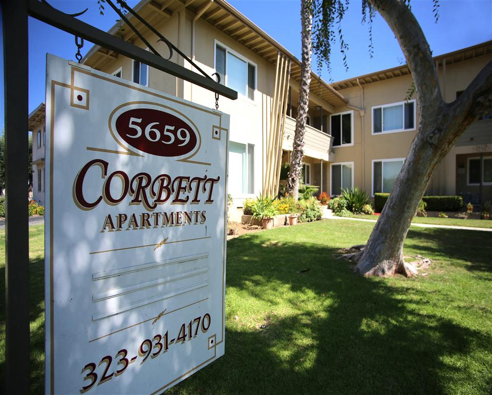 Corbett Avenue Apartments - A well maintained and managed little gem on a quiet street in Central Los Angeles