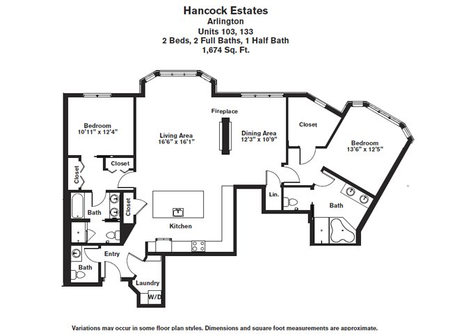 Click to view Floor plan 2 BR 2.5 BA image 7