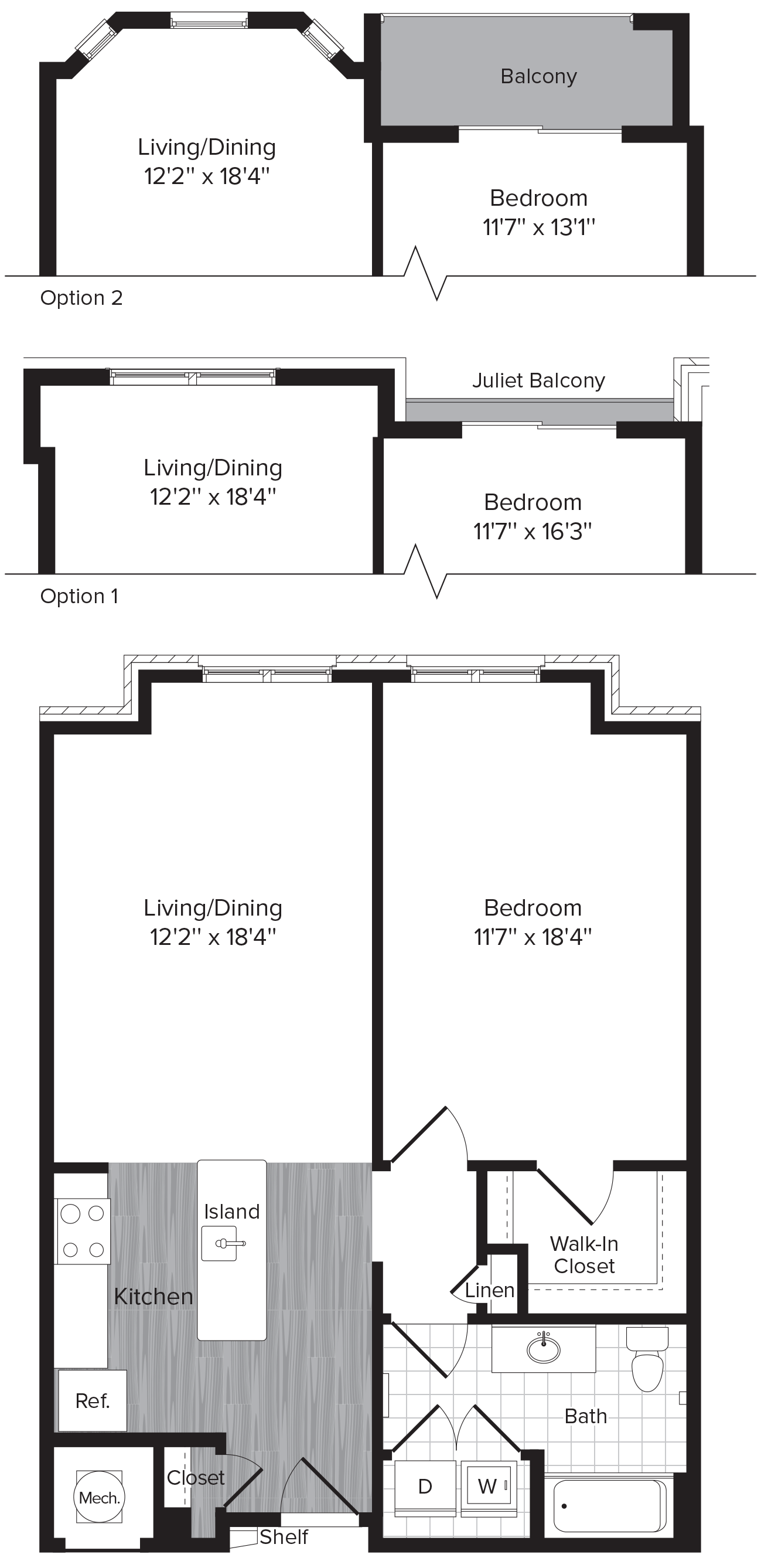 floor plans brompton house apartments and townhomes for rent 1 bed 1 bath