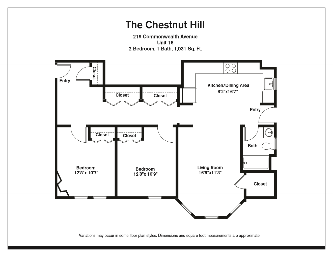 Click to view Floor plan Two Bedroom image 5