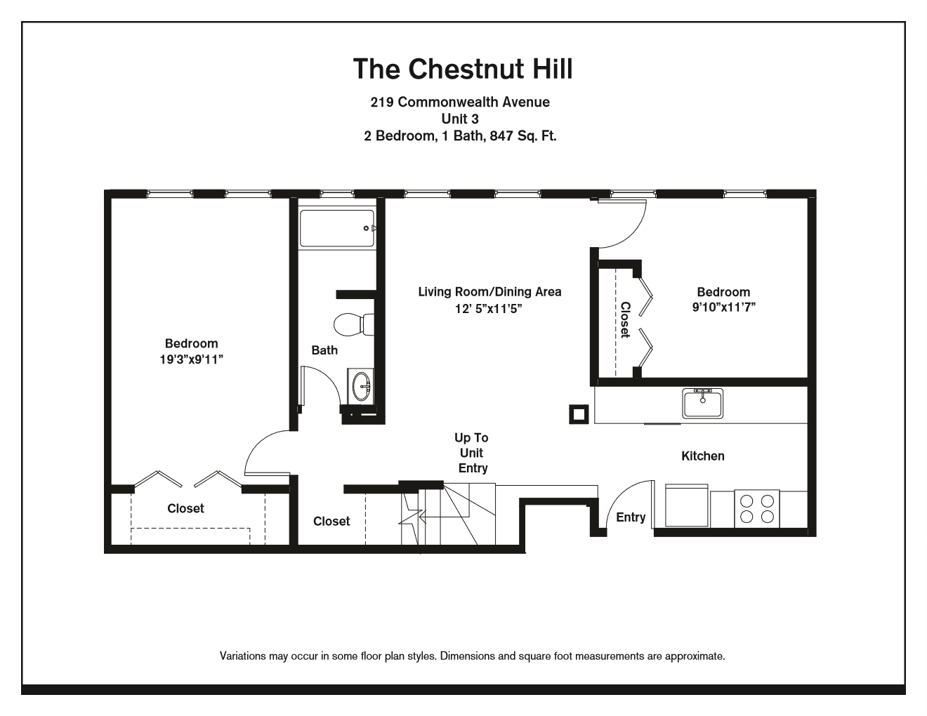 Click to view Floor plan Two Bedroom image 3